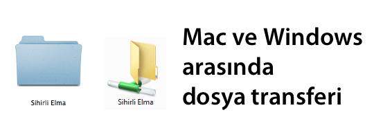 Sihirli elma mac windows dosya paylasimi banner