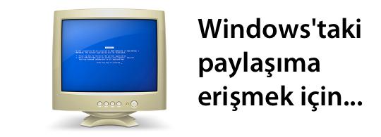 Sihirli elma windows mac dosya paylasimi banner