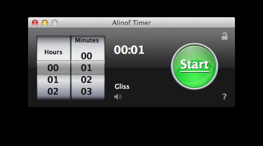 Sihirli elma basit sayac timer alinof 1