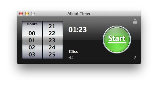 Sihirli elma basit sayac timer alinof 5