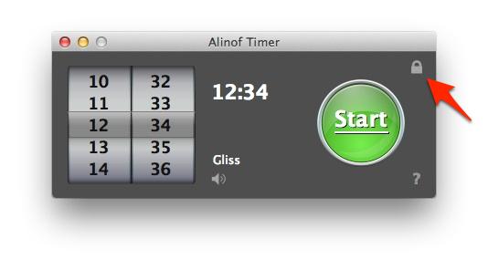 Sihirli elma basit sayac timer alinof 7