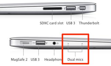 Sihirli elma yeni macbook air 2013 11