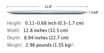 Sihirli elma yeni macbook air 2013 14