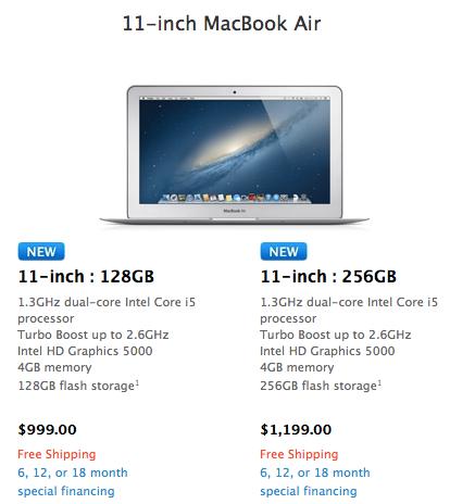 Wwdc 2013 ozet macbook air 11