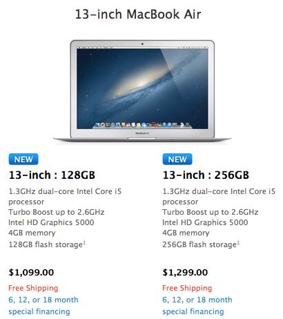 Wwdc 2013 ozet macbook air 13