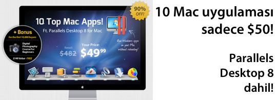 Sihirli elma 10 mac uygulama parallels desktop banner