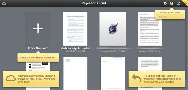 Sihirli elma icloud iwork pages numbers keynote 3