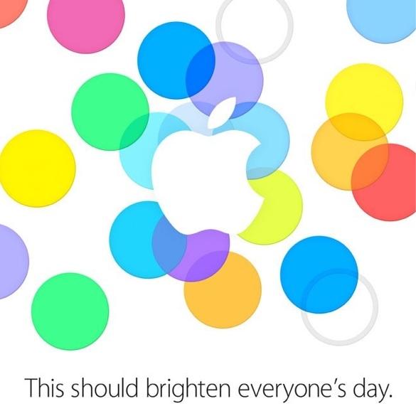 Apple event iphone 5s 5c