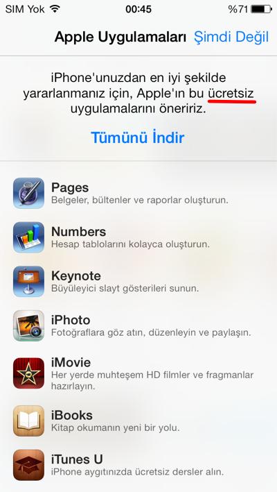 Kaynak: iPhone Türkiye