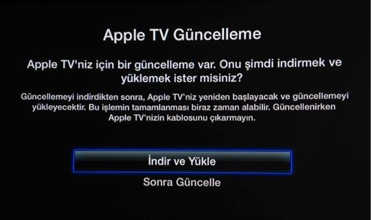 Sihirli elma apple tv yazilim guncellemesi 6 0 3
