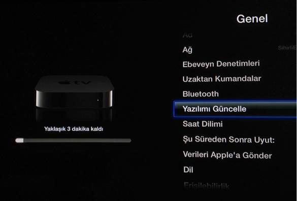 Sihirli elma apple tv yazilim guncellemesi 6 0 4