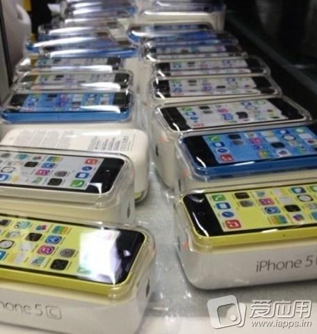 Sihirli elma iphone 5s 5c renkli