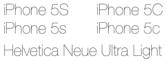 Sihirli elma iphone 5s lansman 5 onemli konu helvetica neue ultra light