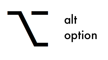 Alt option key