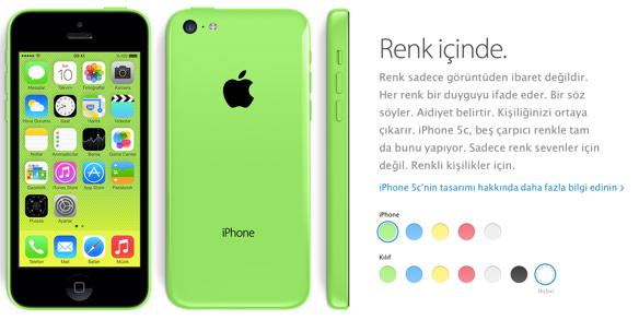 Sihirli elma iPhone 5s 5c turkiye 4a