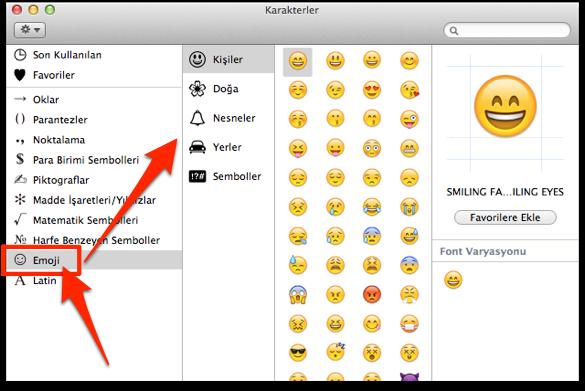 Sihirli elma mac emoji emoticon 6