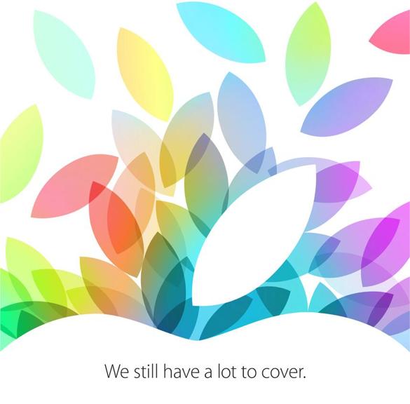 Sihirli elma yeni ipad macbook pro etkinlik 22 ekim davetiye