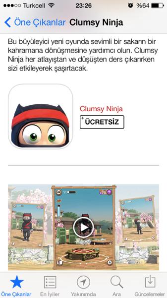 Sihirli elma app store video tanitim 3