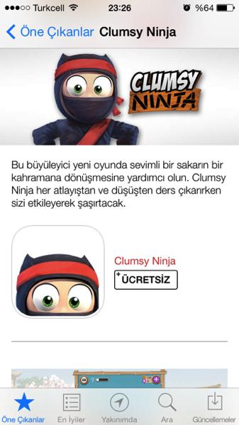 Sihirli elma app store video tanitim 4
