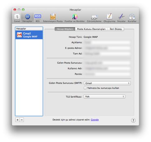 Sihirli elma mavericks mail gmail guncelleme 3