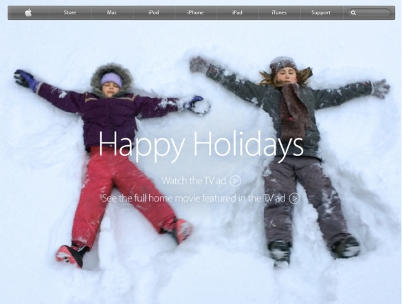 Apple website 1