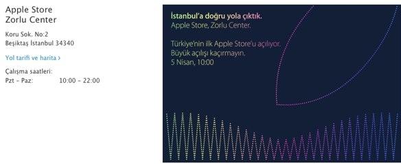 Sihirli elma apple store turkiye zorlu center 3