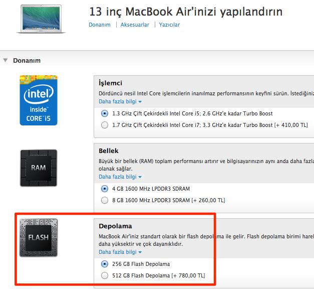 Sihirli elma 13 inc macbook air pro retina karsilastirma 3 7