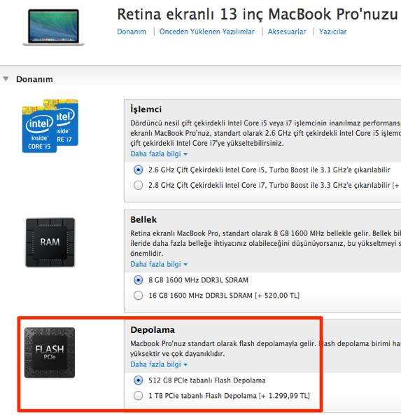Sihirli elma 13 inc macbook air pro retina karsilastirma 3 9