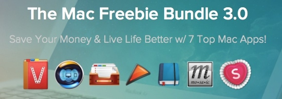 Sihirli elma mac uygulama paketi app bundle freebie 0