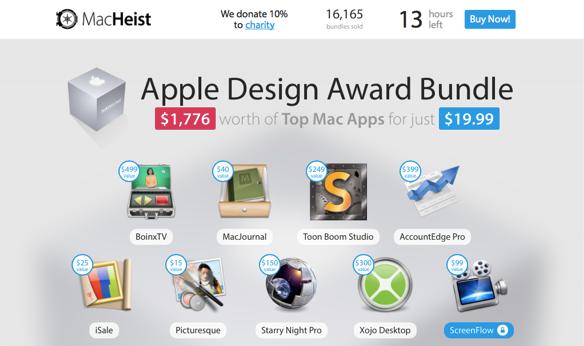 Sihirli elma mac uygulama paketi app bundle macheist 3
