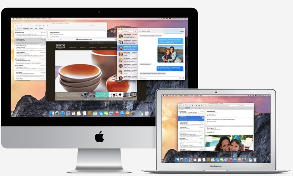 Sihirli elma os x yosemite apps 2