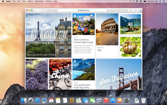 Sihirli elma os x yosemite apps 3