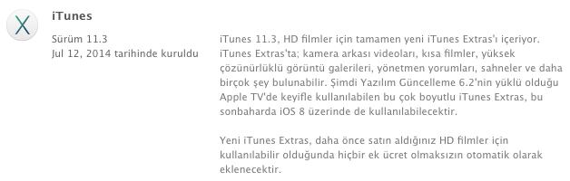 Sihirli elma itunes 11 3 extras 1