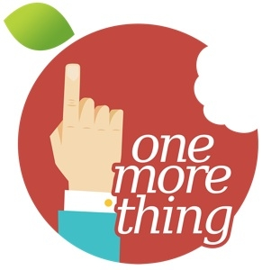 Sihirli elma one more thing logo