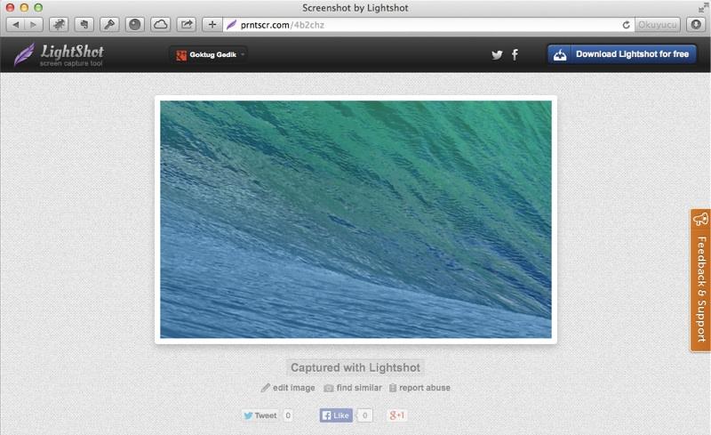 Mac ekran goruntusu lightshot 10
