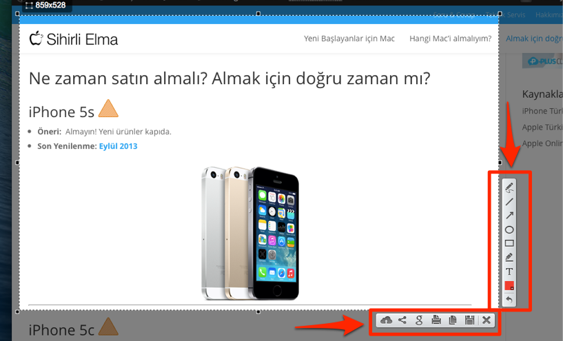 Mac ekran goruntusu lightshot 6