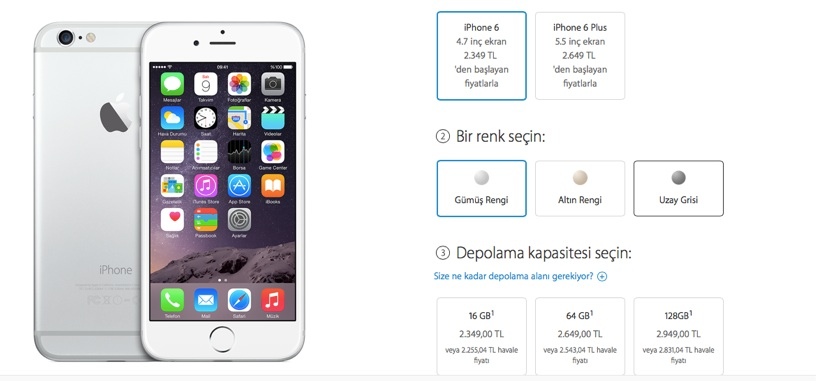 Sihirli elma apple etkinlik iphone 6 pay watch 9