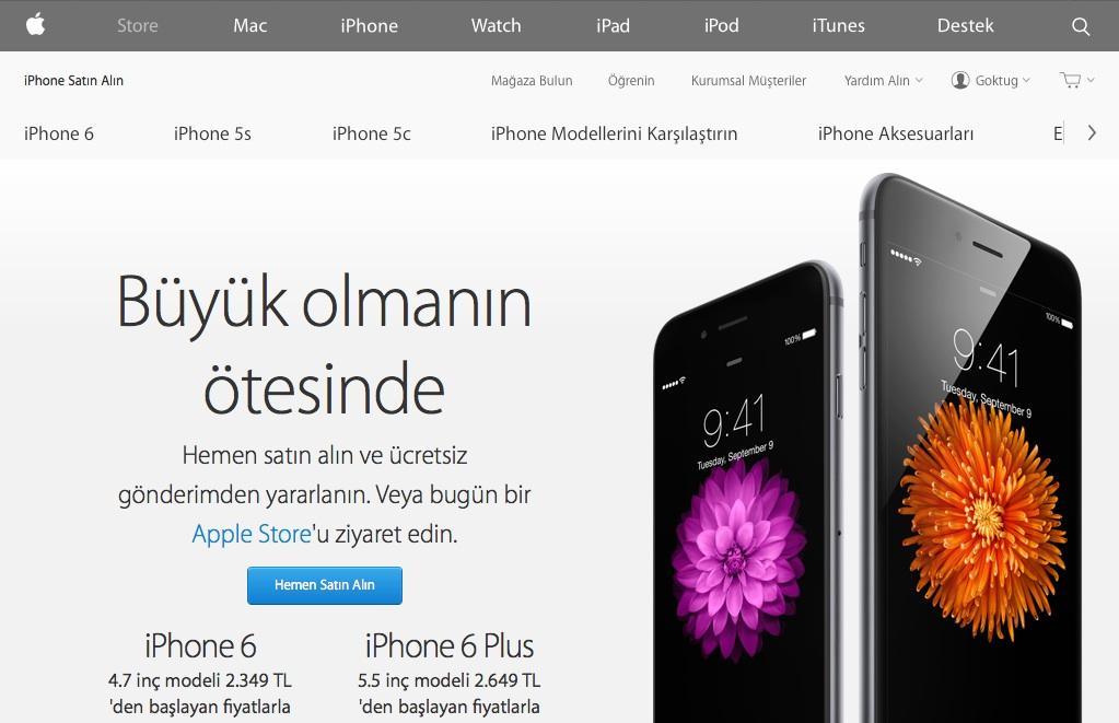 Sihirli elma apple com yenilendi 13