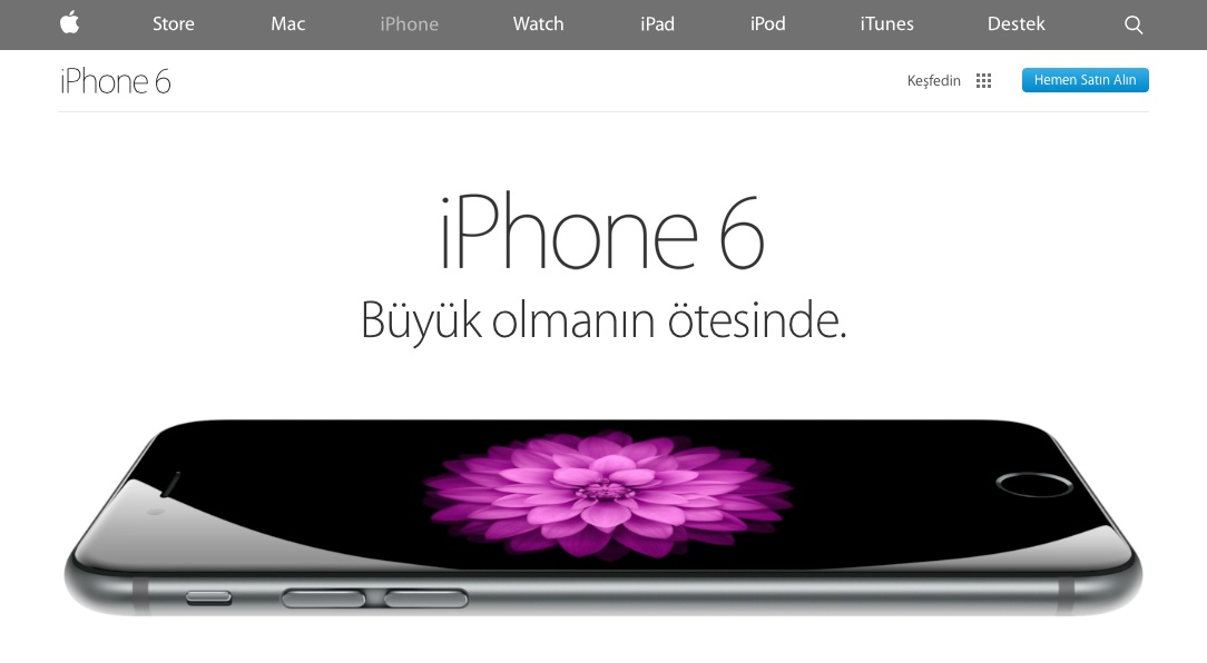 Sihirli elma apple com yenilendi 8