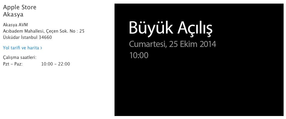 Sihirli elma apple store akasya 5