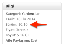 Sihirli elma yosemite yukleme install disk 17