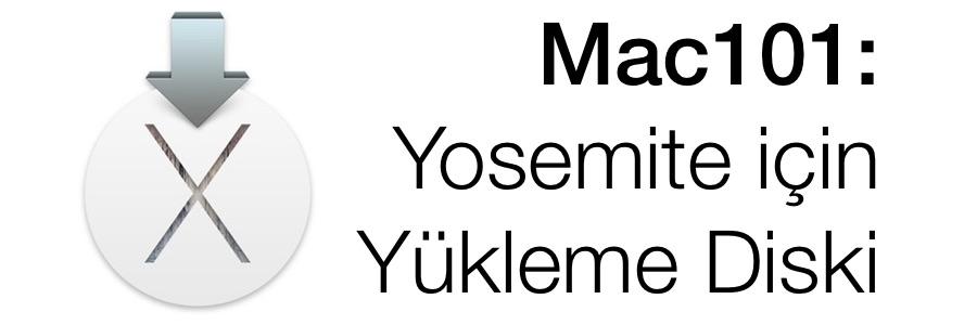 Sihirli elma yosemite yukleme install disk feat