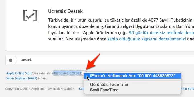 Sihirli elma mac iphone telefon arama gorusme 10