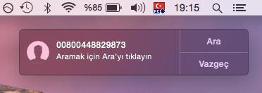 Sihirli elma mac iphone telefon arama gorusme 12