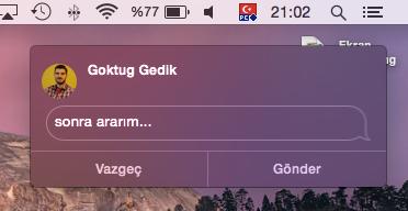 Sihirli elma mac iphone telefon arama gorusme 17a