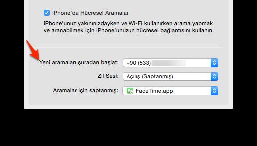 Sihirli elma mac iphone telefon arama gorusme 5