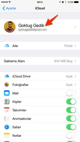 Sihirli elma mac iphone telefon arama gorusme 6a