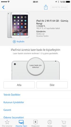 Sihirli elma apple store app turkiye 8
