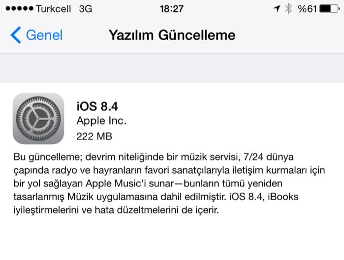 Sihirli elma ios 8 4 apple music 1