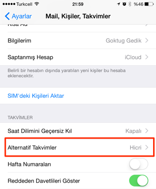 Sihirli elma iphone mac alternatif takvim hicri 3